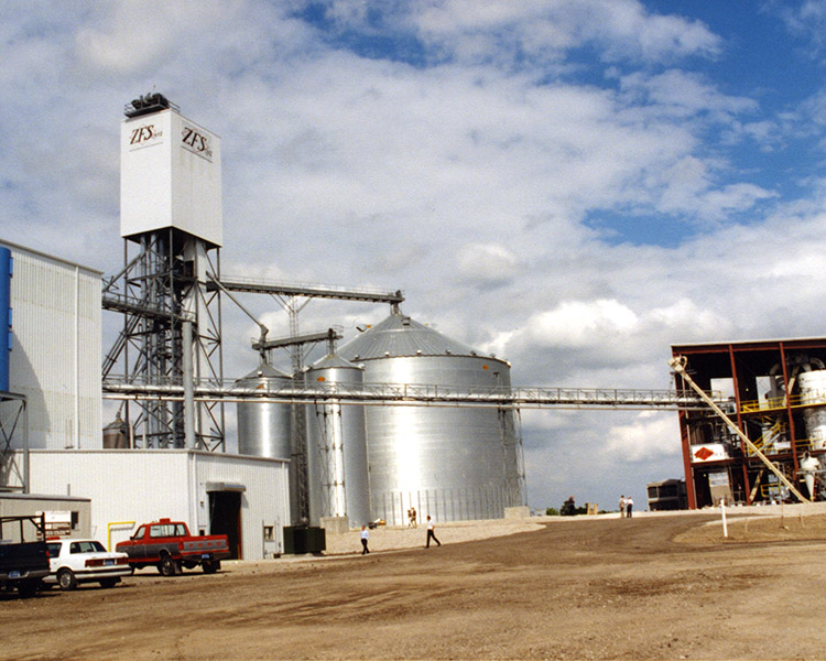 Zeeland Farm Services soy processing plant in 1996